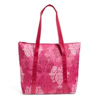 Deals on Vera Bradley Factory Style Cooler Tote Bag in Stamped Paisley