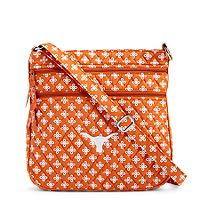 Vera Bradley Collegiate Triple Zip Hipster Crossbody