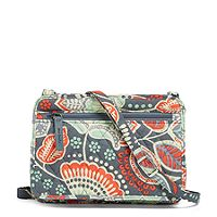 Deals on Vera Bradley Factory Style Petite Crossbody in Nomadic Floral