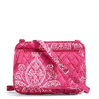 Deals on Vera Bradley Factory Style Petite Crossbody in Stamped Paisley