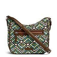 Deals on Vera Bradley Mini Vivian Crossbody in Rain Forest