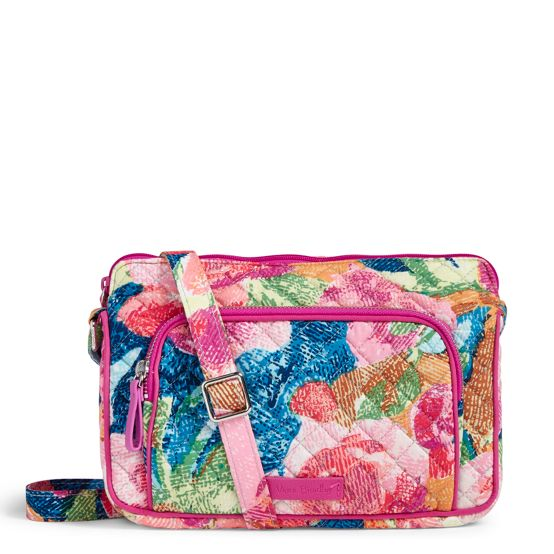Vera Bradley Iconic RFID Little Crossbody Bag