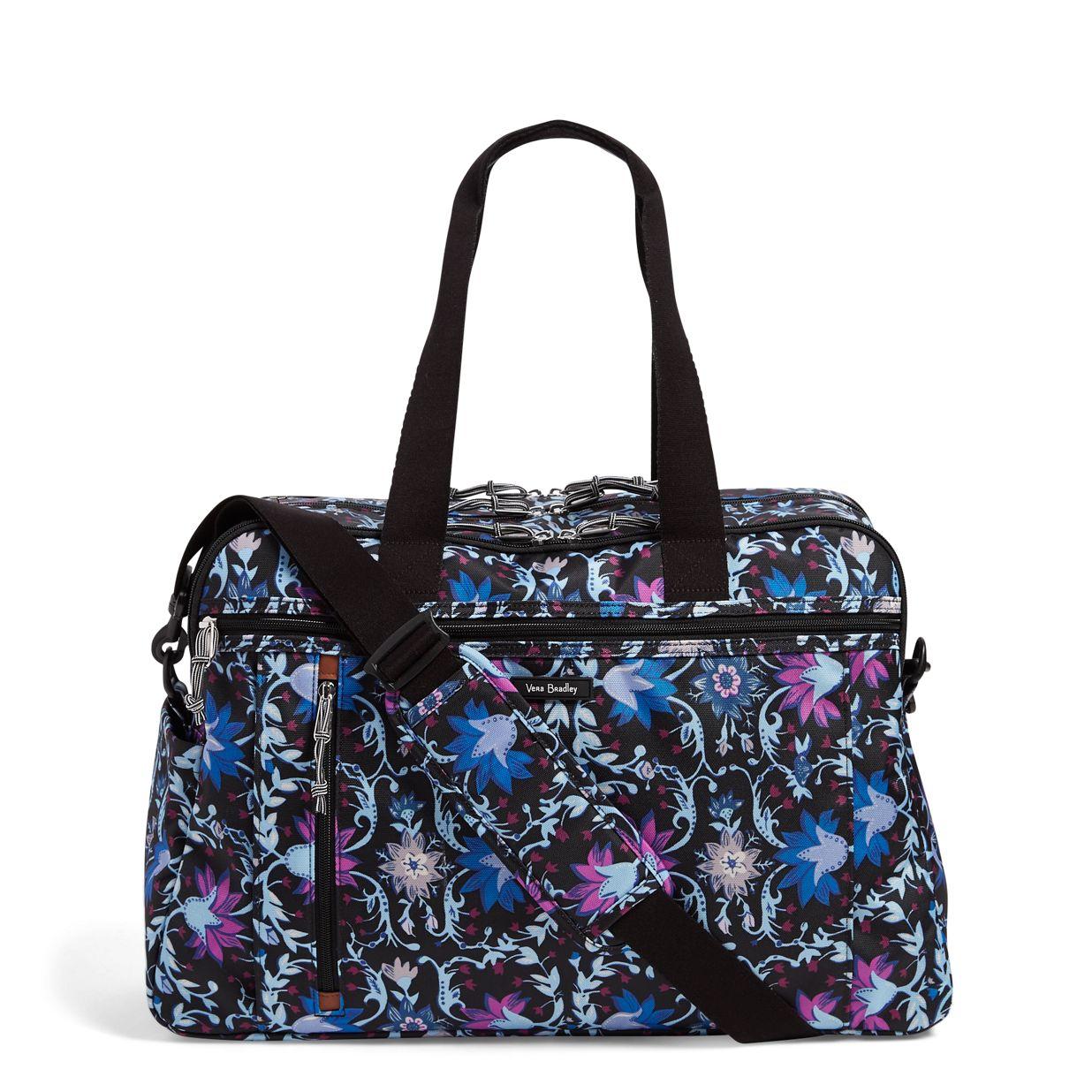 f7e3f12b1 Image of Lighten Up Weekender Travel Bag in Bramble Vines ...