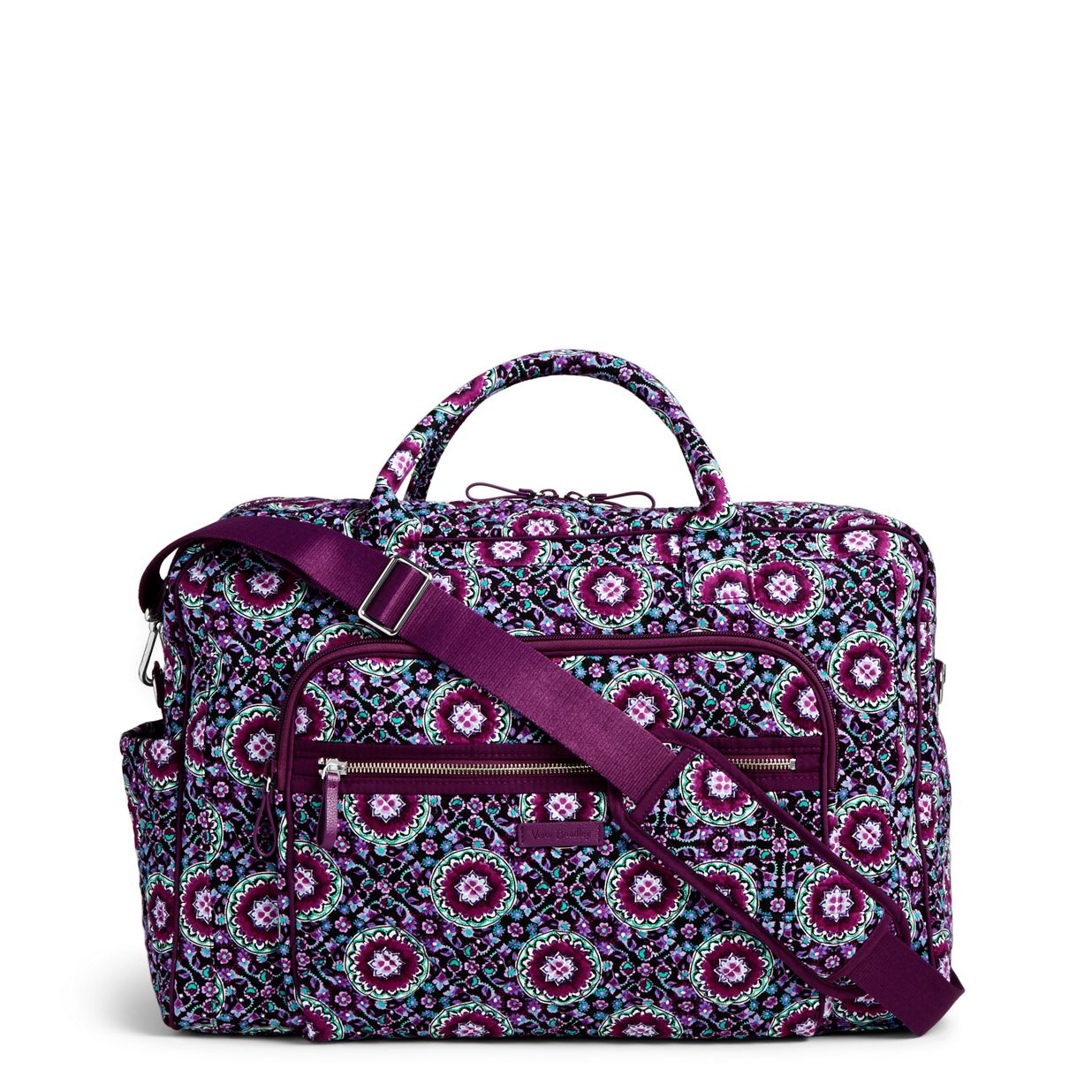 Image of Iconic Weekender Travel Bag in Lilac Medallion be4fa65bed443