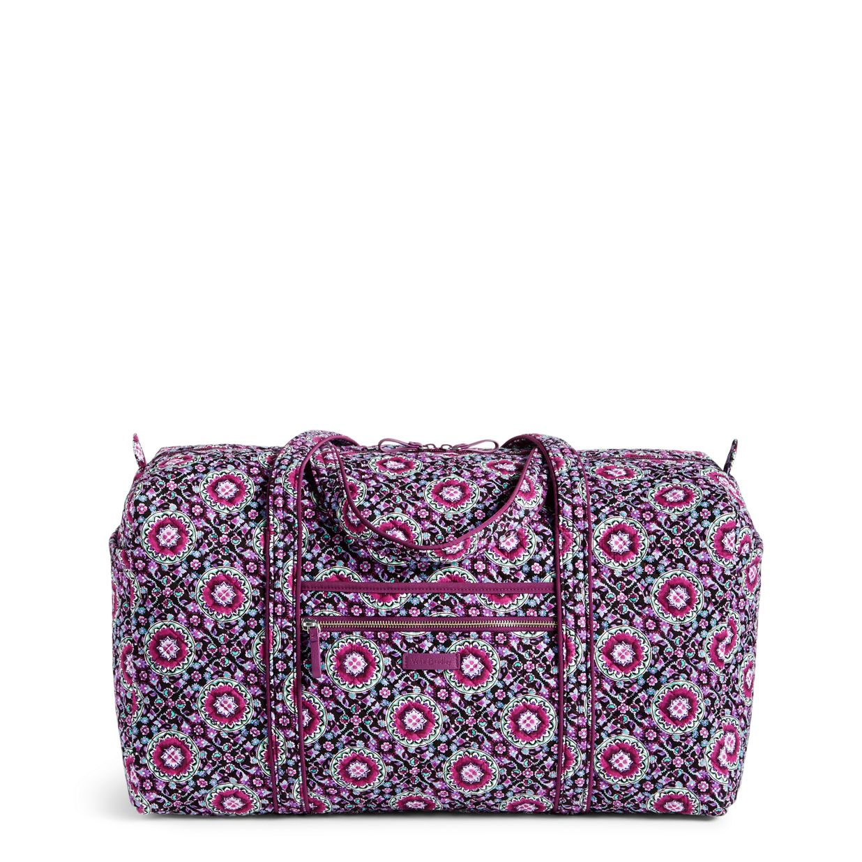 Image of Iconic Large Travel Duffel in Lilac Medallion 09c501c64314a