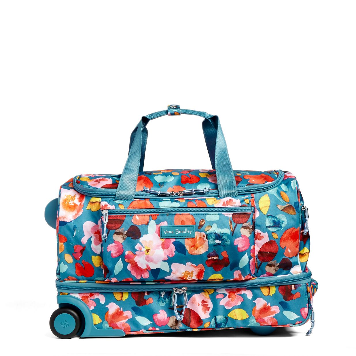 Image of Lighten Up Foldable Rolling Duffel in Scattered Superbloom ... 3cb6d909c5