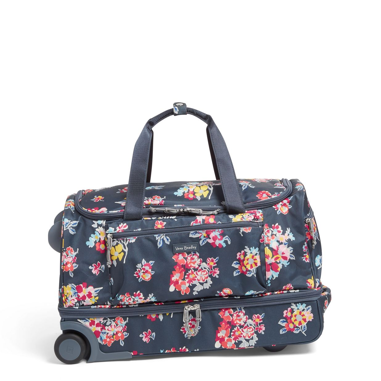 d8c91a10e Image of Lighten Up Foldable Rolling Duffel in Tossed Posies ...