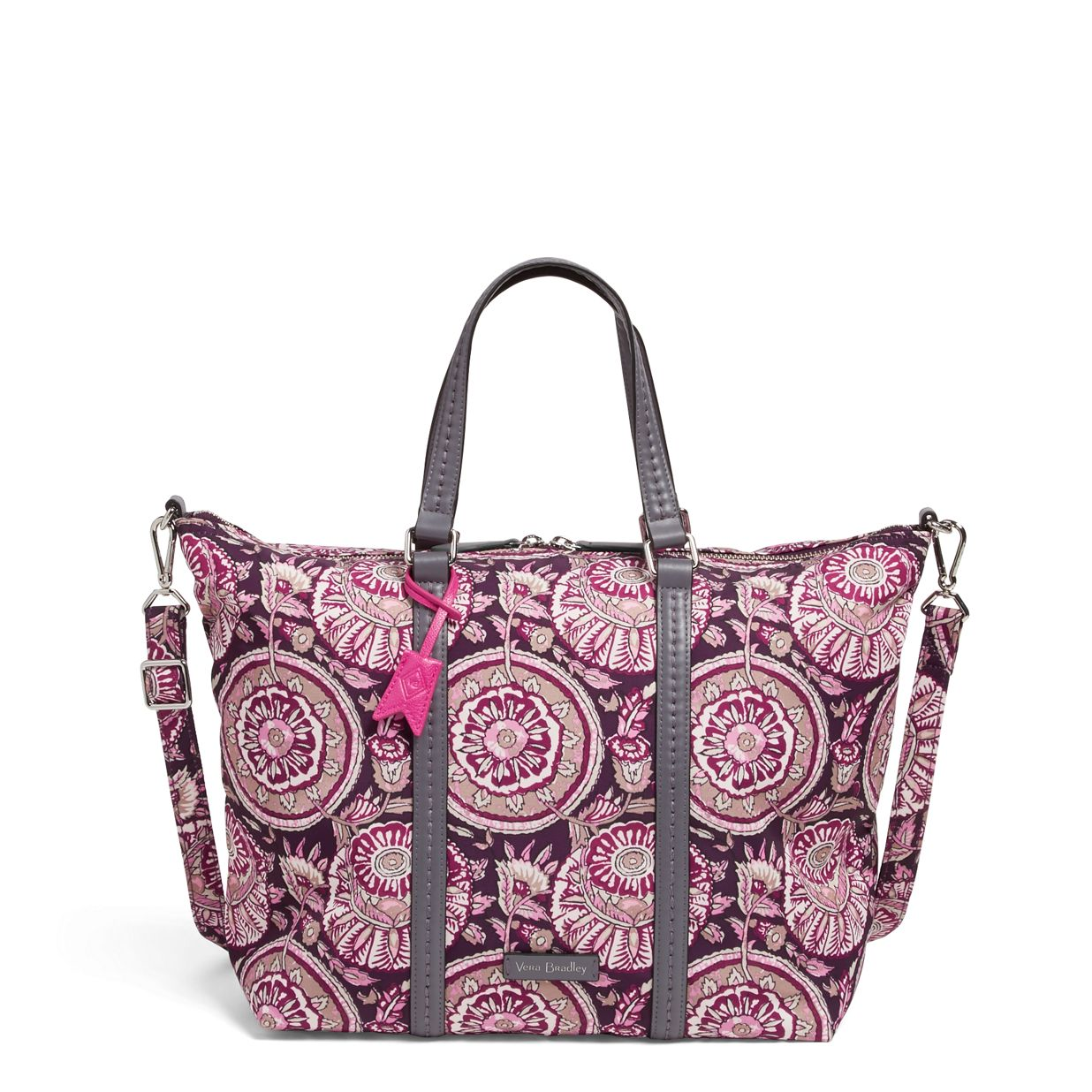 ff3d7a6cb542 Image of Midtown Small Tote in Lei Flowers ...