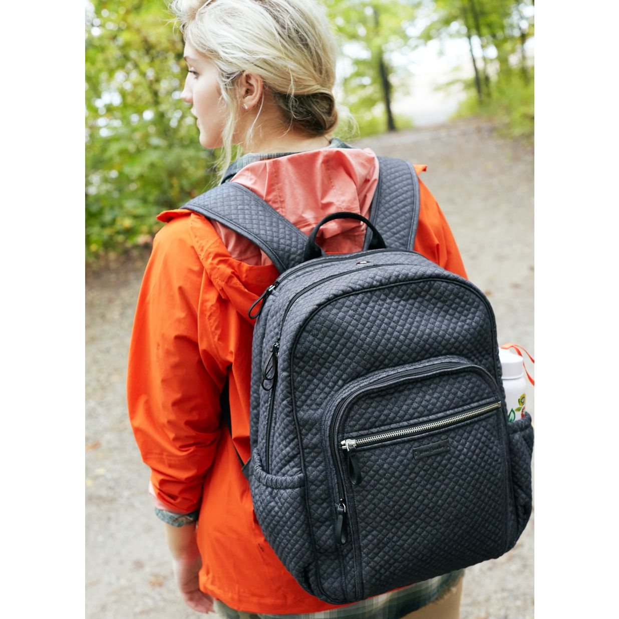 514e83d647f9 ... Image of Iconic Campus Backpack in Denim Navy