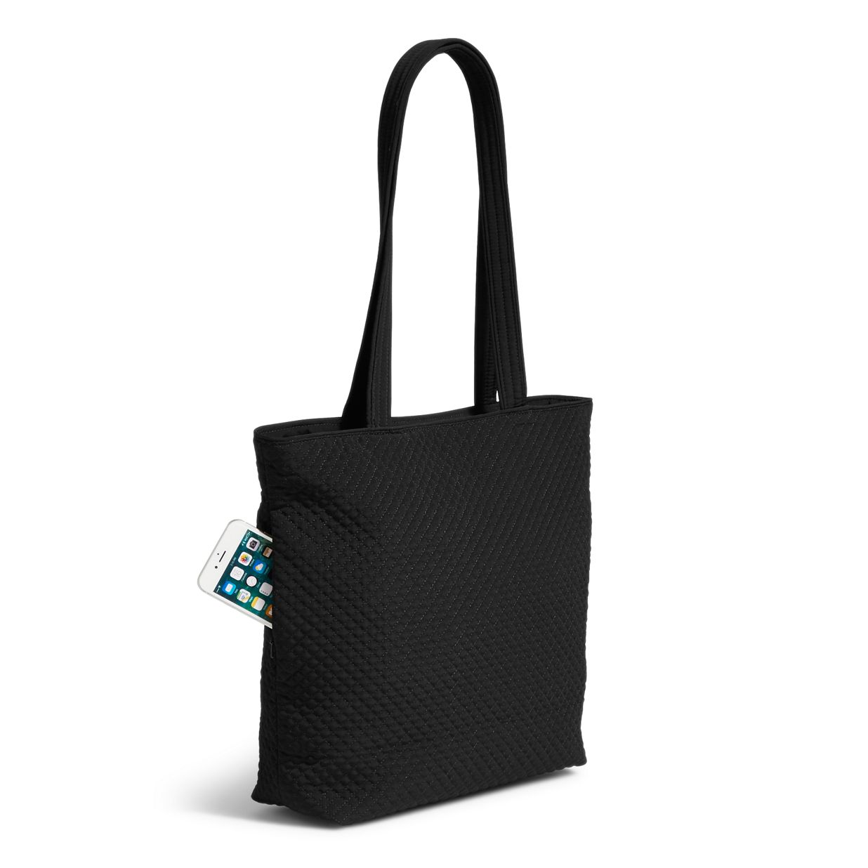 b17ebabe326b ... Image of Iconic Tote Bag in Classic Black ...