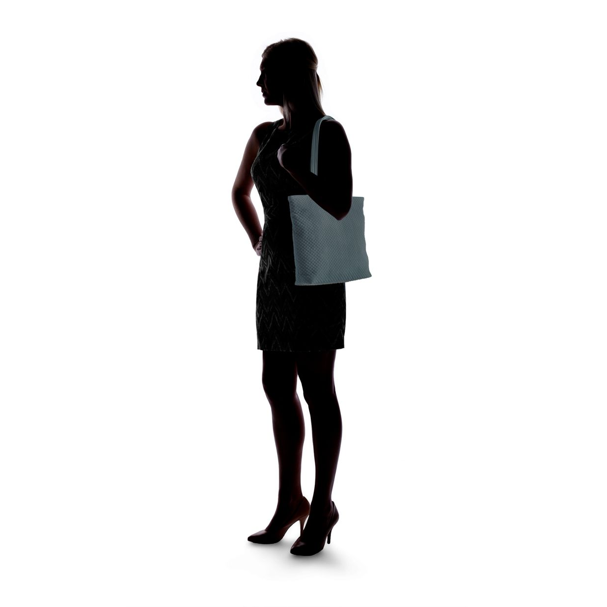a983ae52ddc1 ... Image of Iconic Tote Bag in Classic Black