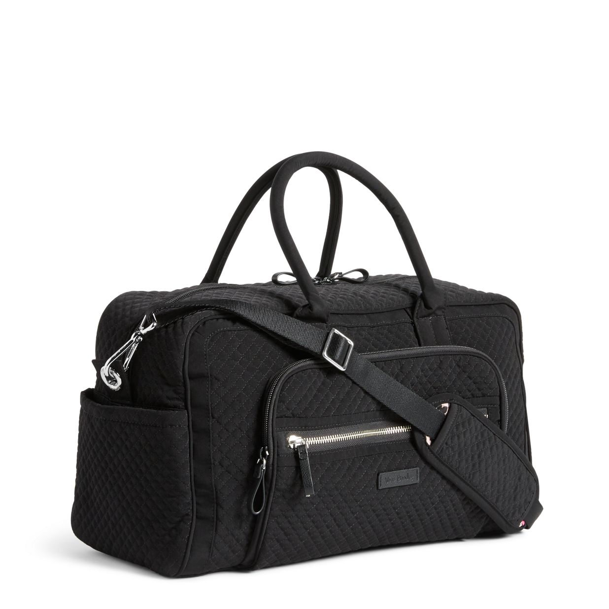 3253dc1d0 ... Image of Iconic Compact Weekender Travel Bag in Classic Black ...