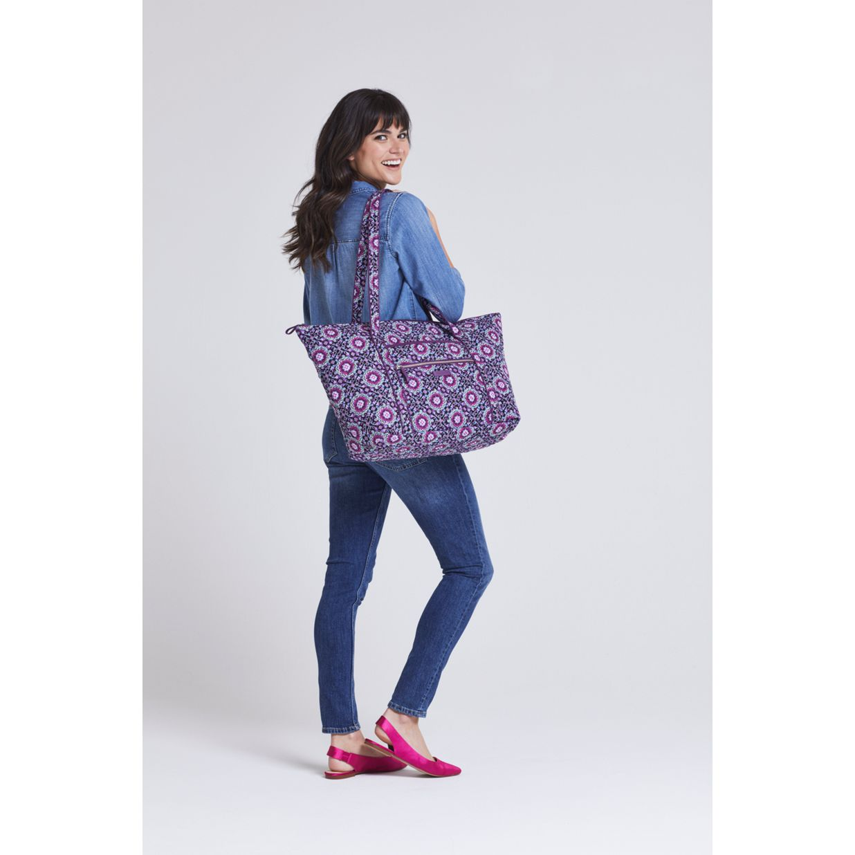 c7942454fe ... Image of Iconic Miller Travel Bag in Pretty Posies ...