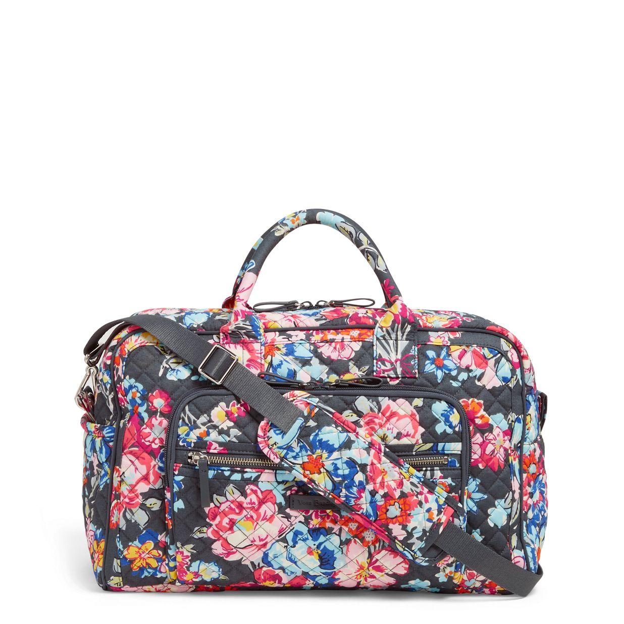 Compact Weekender Travel Bag Vera Bradley