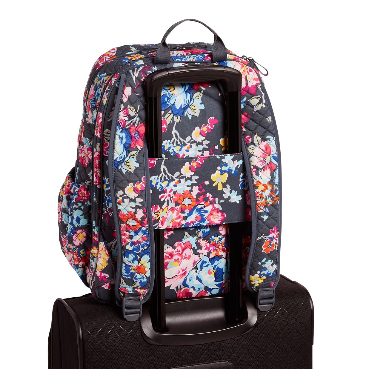 ... Image of Iconic Campus Backpack in Pretty Posies 3a83840a4b70f