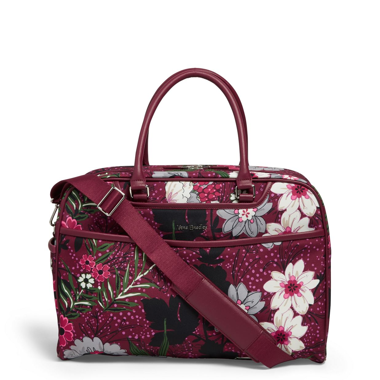 e4cdfaf3d Image of Iconic Weekender Travel Bag in Bordeaux Meadow