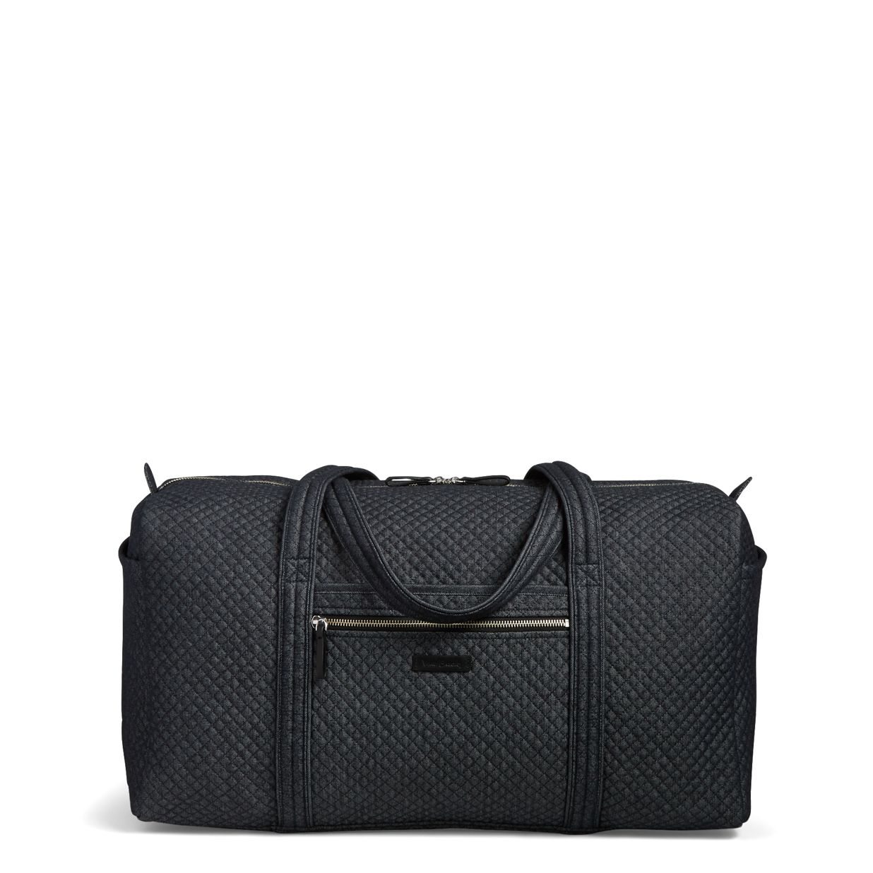 777178867a Image of Iconic Large Travel Duffel in Denim Navy