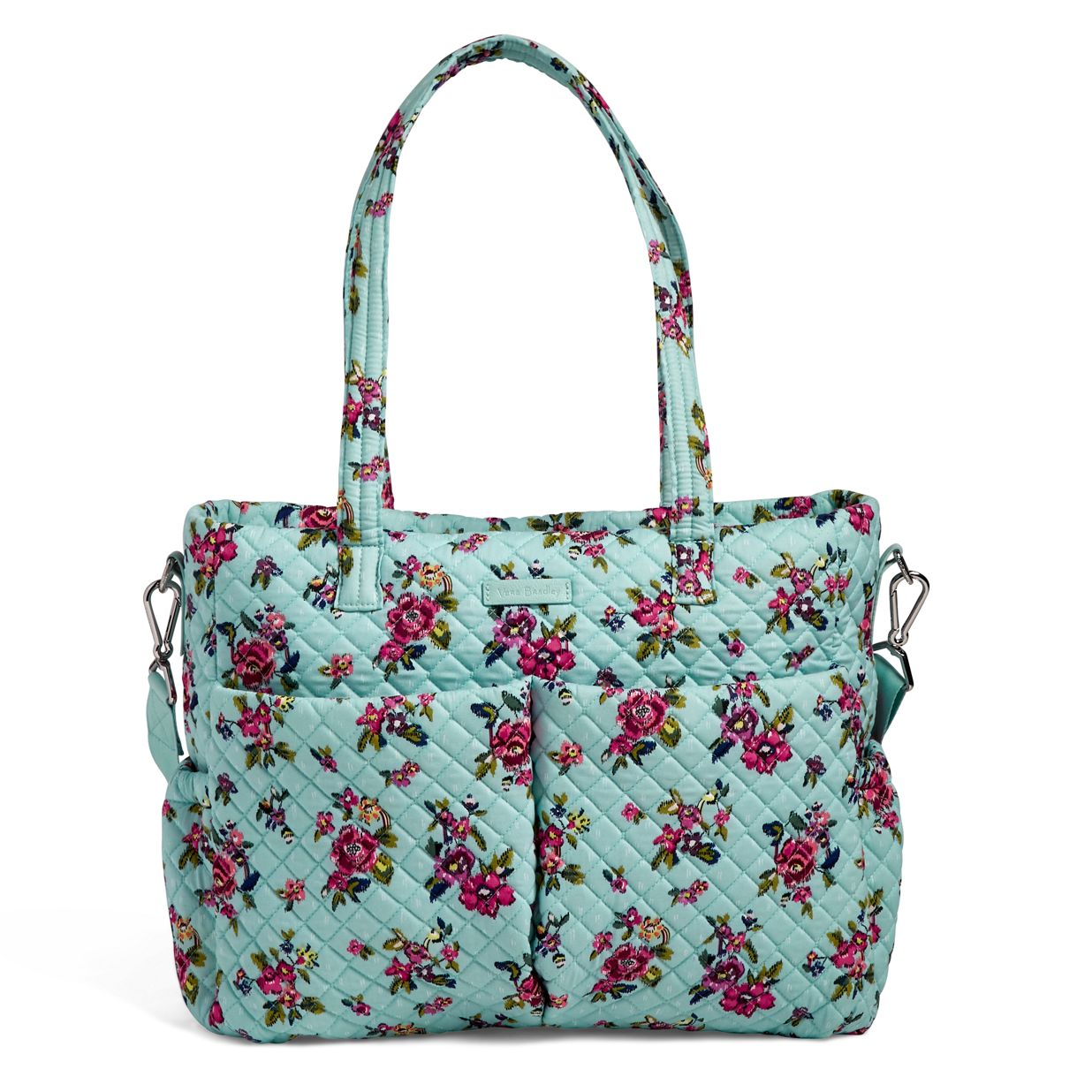 Image of Iconic Ultimate Diaper Bag in Water Bouquet ... 082a49e6b34ac