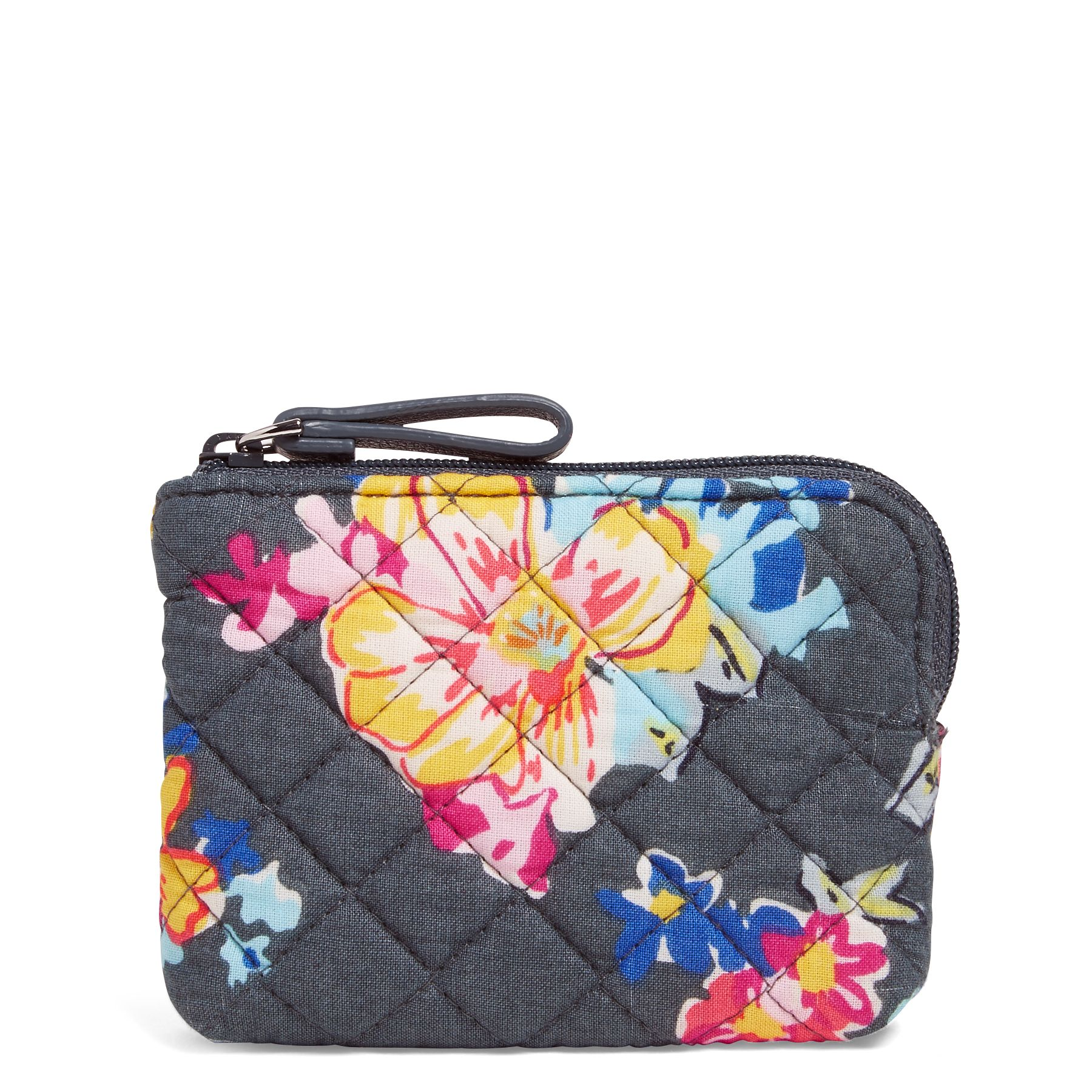 Vera Bradley Iconic Coin Purse, Pretty Posies (886003573426 Accessories) photo