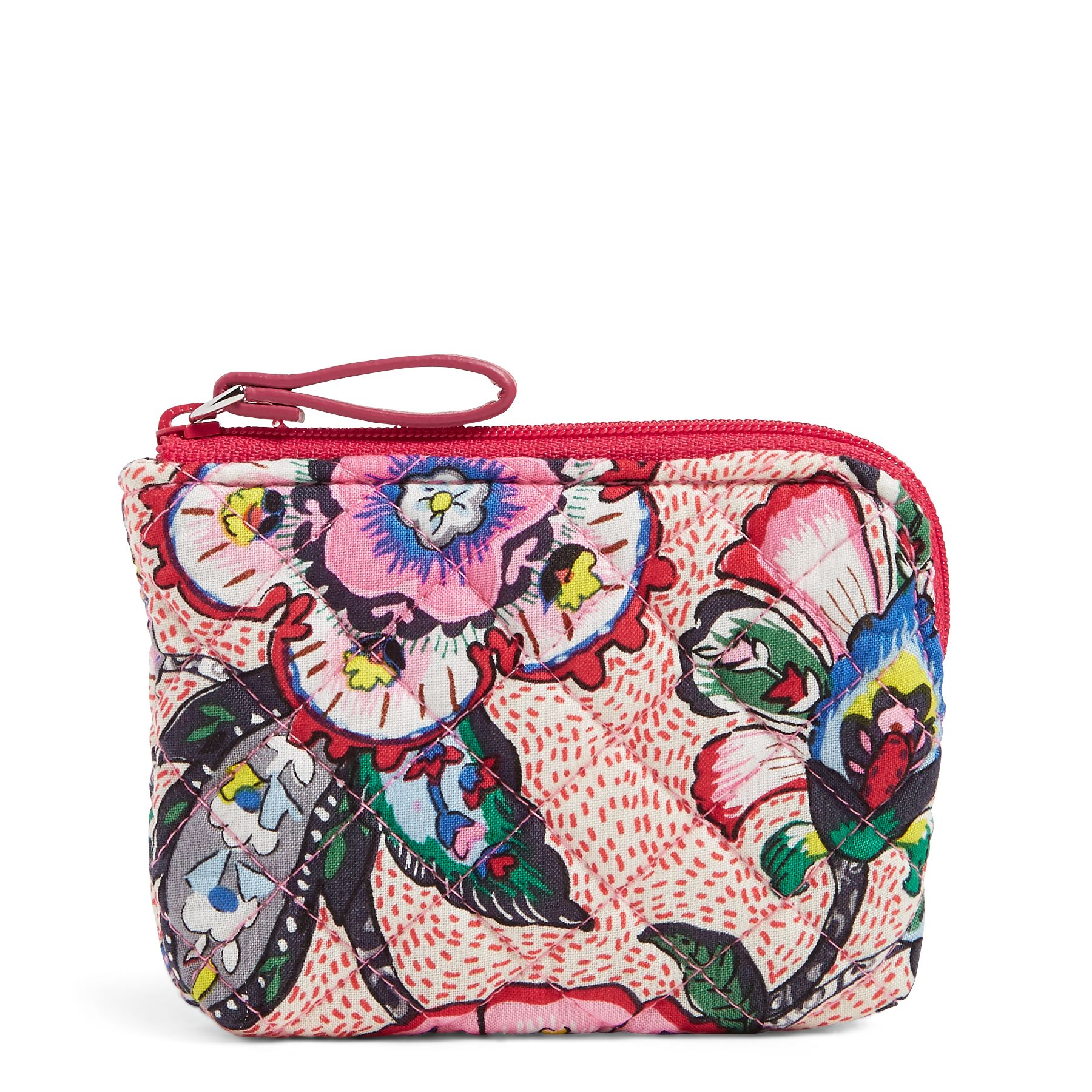 Vera Bradley Iconic Coin Purse, Pink (886003560198 Accessories) photo