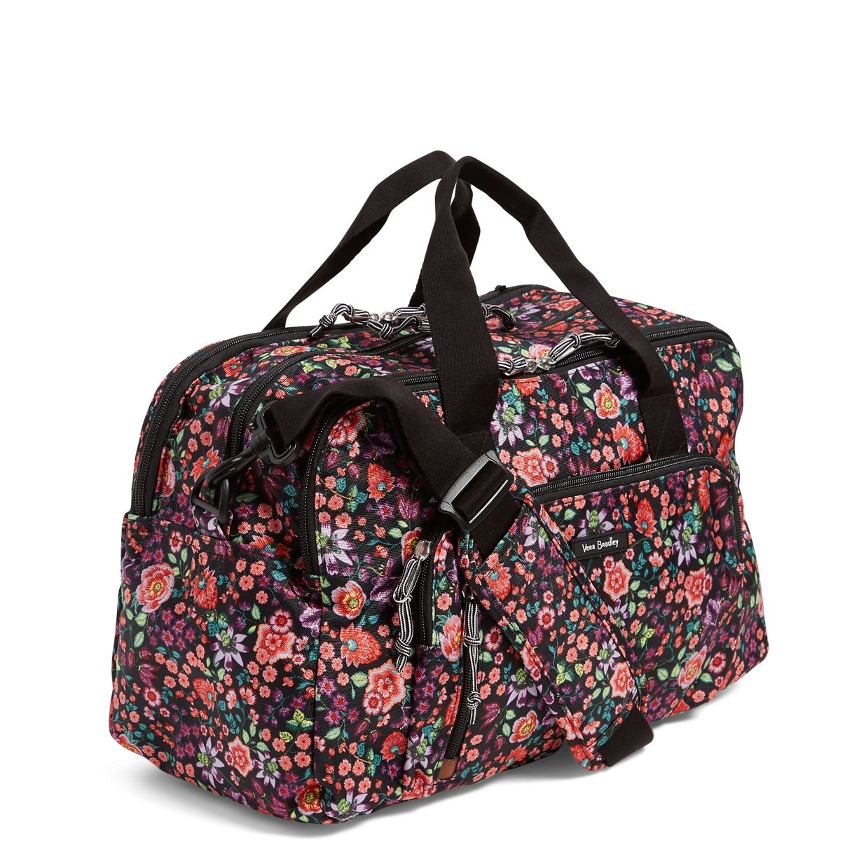 8101f35a3 ... Image of Lighten Up Compact Weekender in Tossed Posies ...