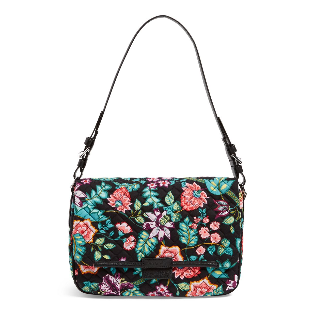 e859432712fa Image of Iconic Shoulder Bag in Vines Floral ...