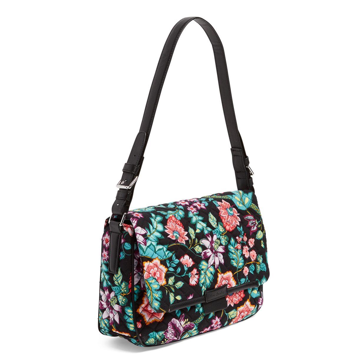 ... Image of Iconic Shoulder Bag in Vines Floral ... 9edca5e2d28f4