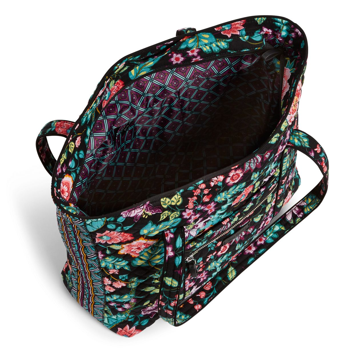 ... Image of Iconic Vera Tote in Vines Floral 0d348f2749d8c