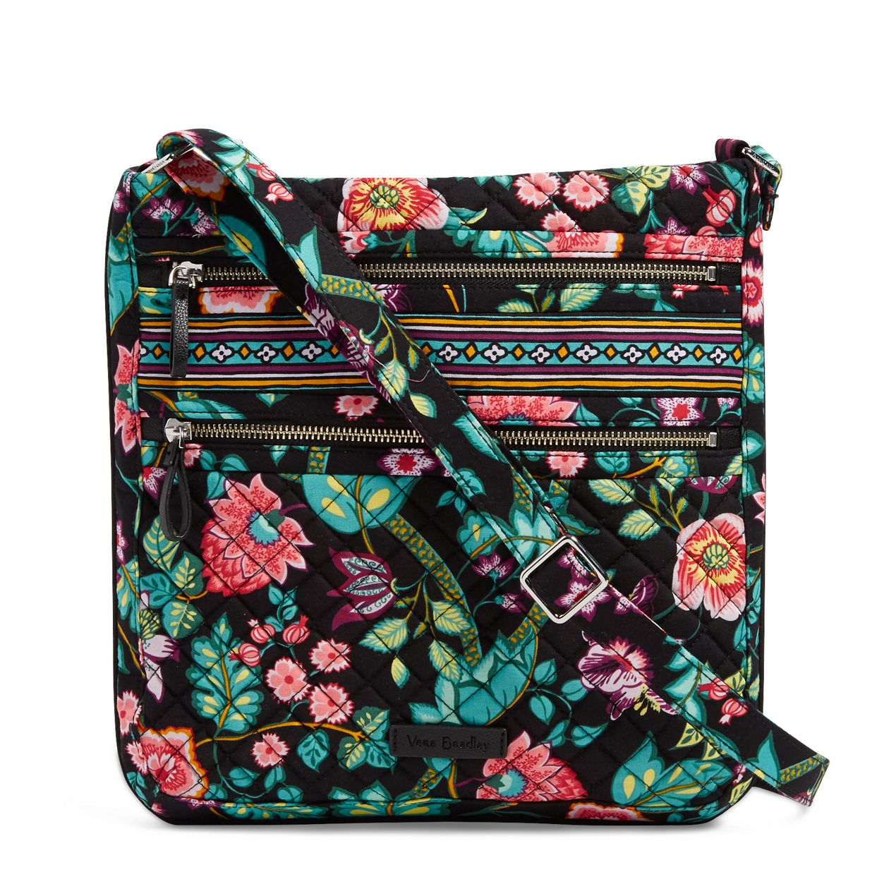 Image of Iconic Triple Zip Hipster in Vines Floral a34050cae3a8b