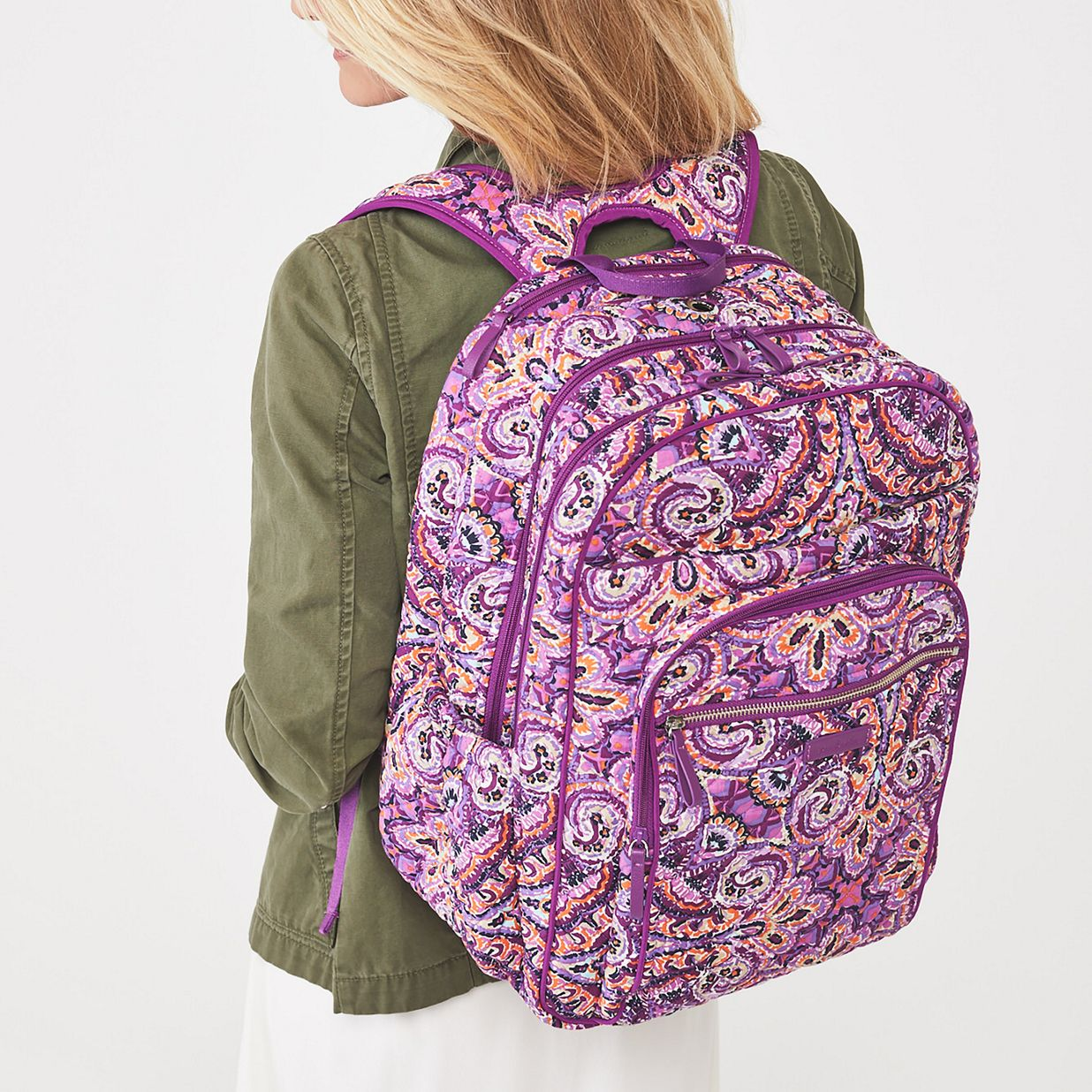 25bb77382 ... Image of Iconic XL Campus Backpack in Charcoal Medallion ...