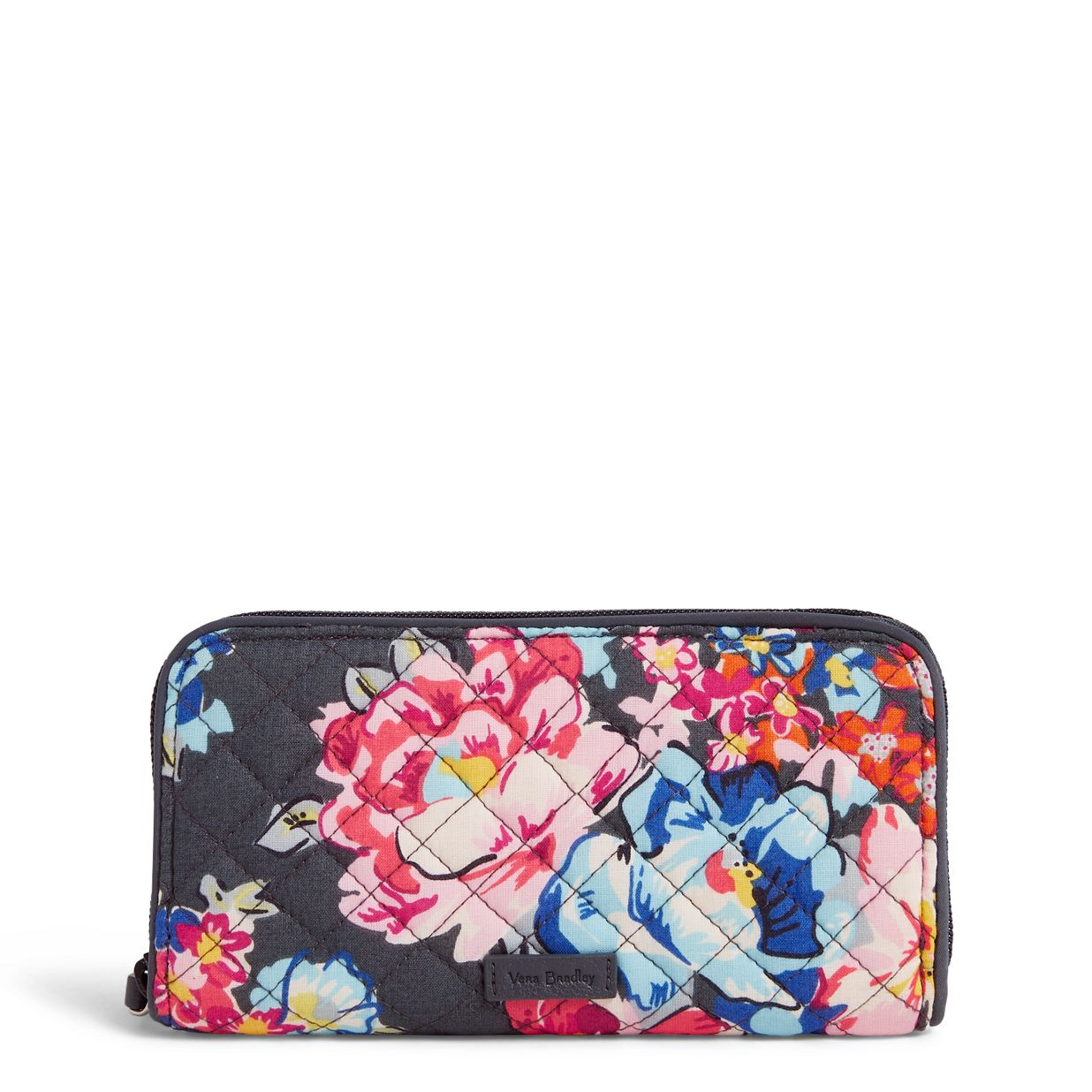 cc3085c94132 Image of Iconic RFID Georgia Wallet in Pretty Posies ...