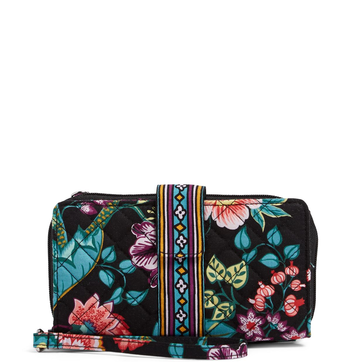 Image of Iconic RFID Combo Wristlet in Vines Floral ... 99e3daef4f7ef