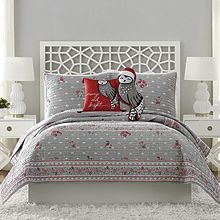 Holiday Owls Bedding Collection