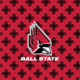 Red/Black Mini Concerto with Ball State University Logo