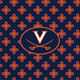Navy/Orange Mini Concerto with University of Virginia Logo