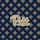 Navy/Fash. Gold Mini Concerto with University of Pittsburgh Logo