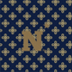 Navy/Fash. Gold Mini Concerto with United States Naval Academy Logo
