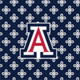 Navy/White Mini Concerto with University of Arizona Logo