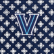 Navy/White Mini Concerto with Villanova Logo