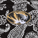 Black/White Bandana with University of Missouri Logo